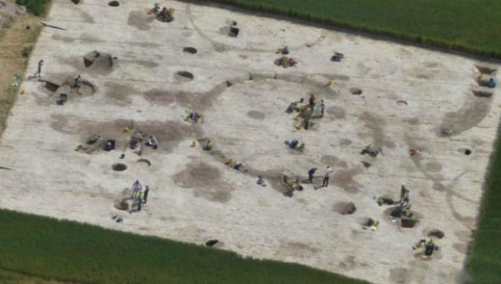 Студенты Борнмутского университета обнаружили следы кельтского городища доримской эпохи