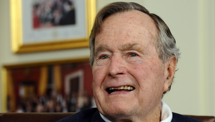 93-летний Буш в больнице, но хочет скоро вернуться домой