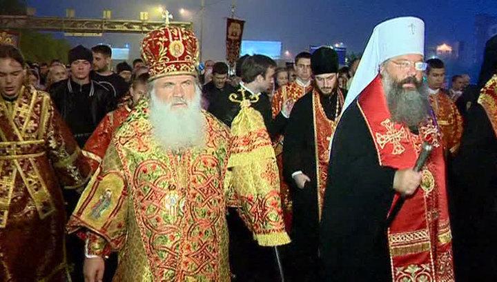 В Екатеринбурге почтили память царской семьи Крестным ходом