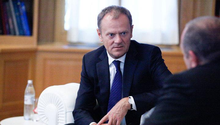 Дональд Туск: Шенген рухнет через два месяца