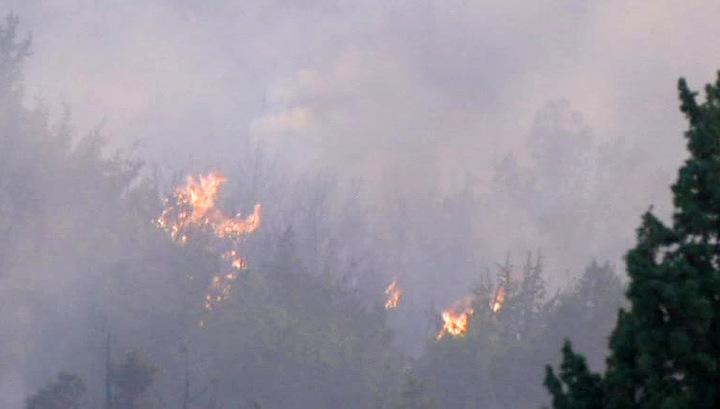 Балканы охвачены огнем пожаров