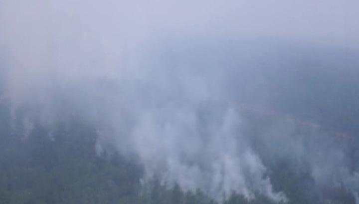 На Дальнем Востоке продолжают бушевать пожары