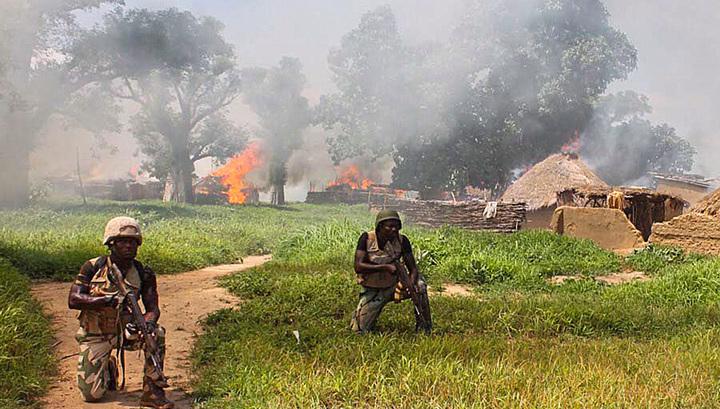 Жертвами нападения боевиков