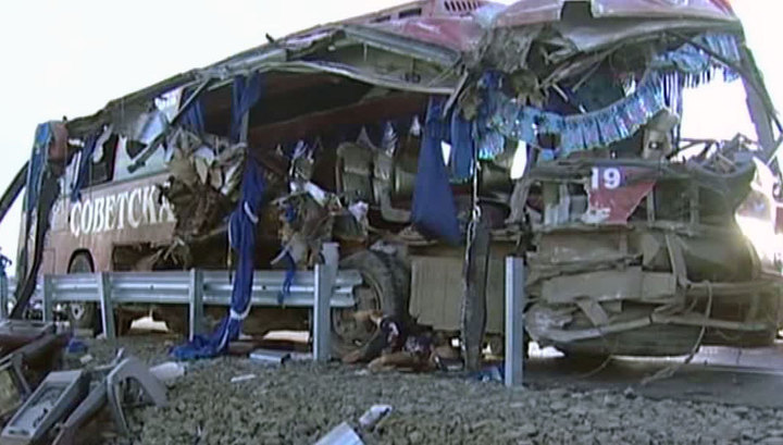 Страшное ДТП под Хабаровском: 16 погибших и 63 раненых