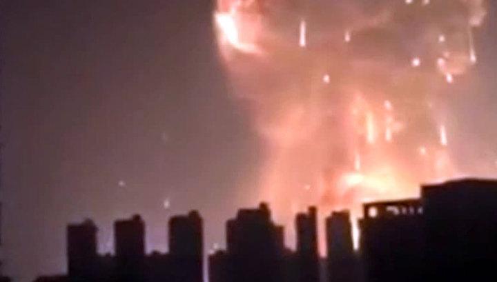 Взрыв в Китае: число жертв возросло до 17 человек