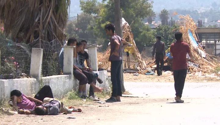 Греки стонут от навязанных им беженцев