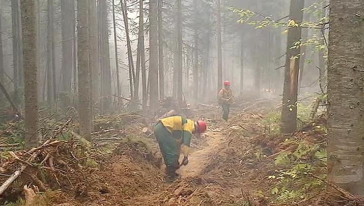 Бурятские пожары: перелом могут внести только проливные дожди