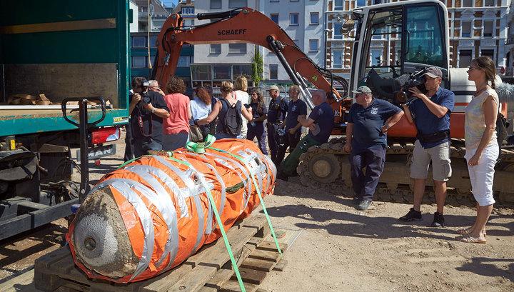 Из-за бомбы времен войны в Вильнюсе проведена эвакуация