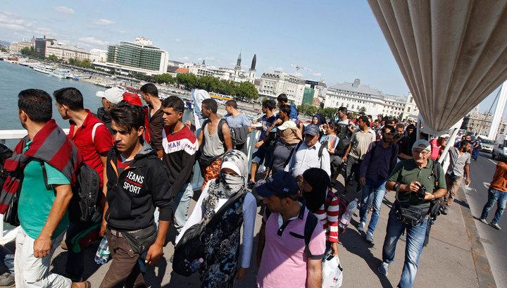 Власти Австрии: в страну прибыли две тысячи мигрантов