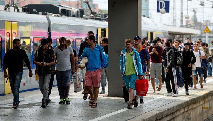 10 тысяч нелегалов направились в Германию