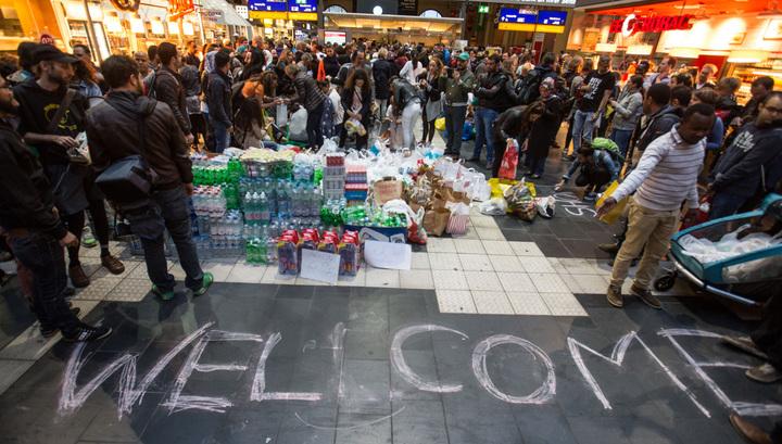 Первая волна мигрантов достигла Германии