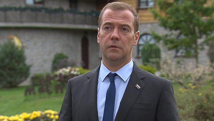 Медведев: Украина предпочла дорогой газ из Европы российскому