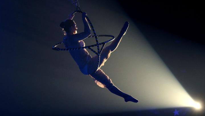 Секс с цирковой гимнасткой