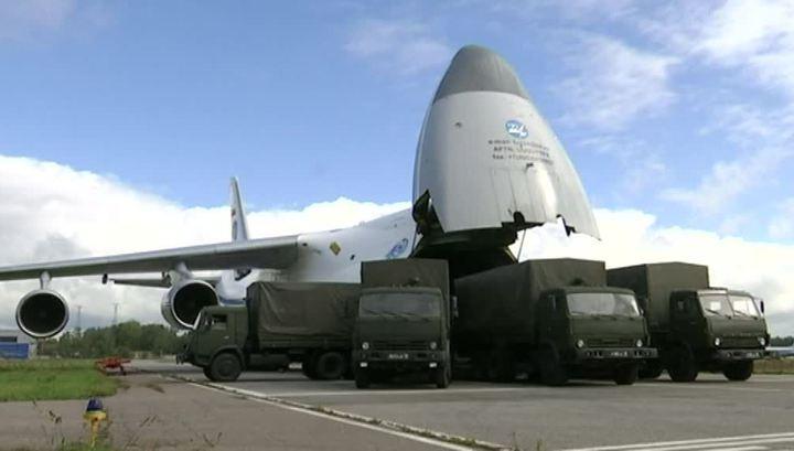 Россия отправила в Сирию еду и предметы первой необходимости