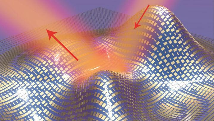 Плащ-невидимка накрывает объект произвольной формы, заставляя свет отражаться от неровностей покрытия как от плоской поверхности