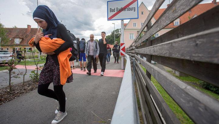 За два дня в Австрию приехали более 15 тысяч мигрантов