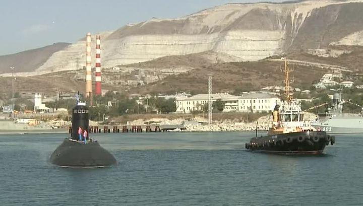 Черноморский флот пополнился новой подводной лодкой