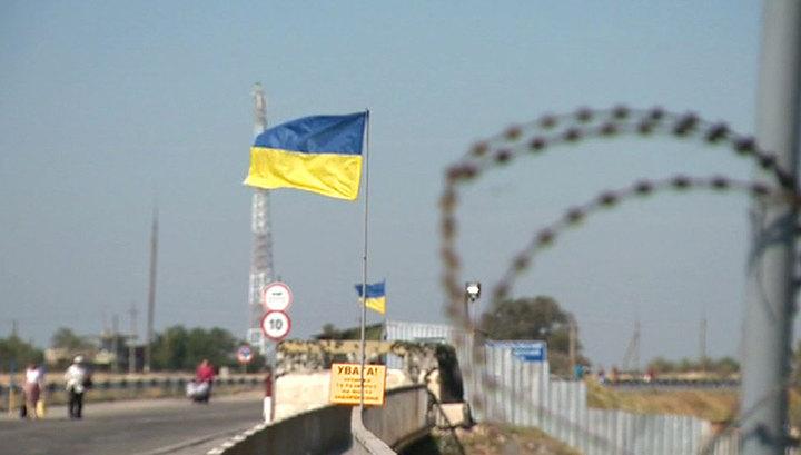 Журналистку НТВ задержали и допросили у границы с Крымом