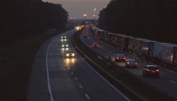 Сербские водители грузовиков протестуют против ограничения въезда в Хорватию