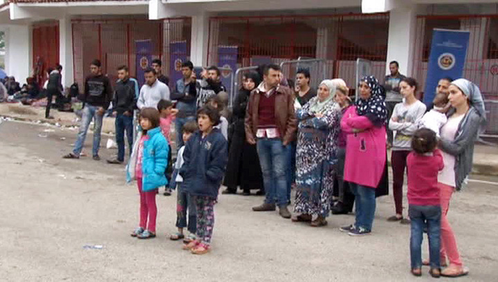 Нелегальные беженцы отпраздновали Курбан-Байрам в Европе