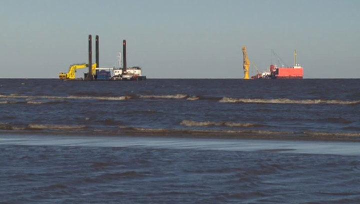 В Карском море построен первый российский арктический нефтяной терминал