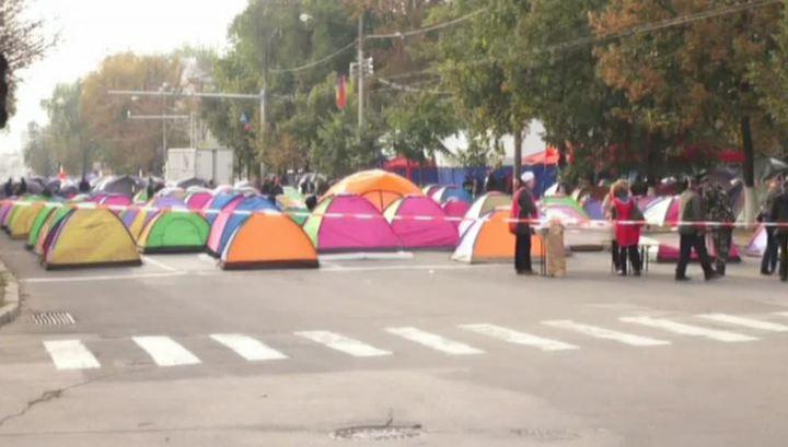 Протесты в Молдавии: срок ультиматума властям истек