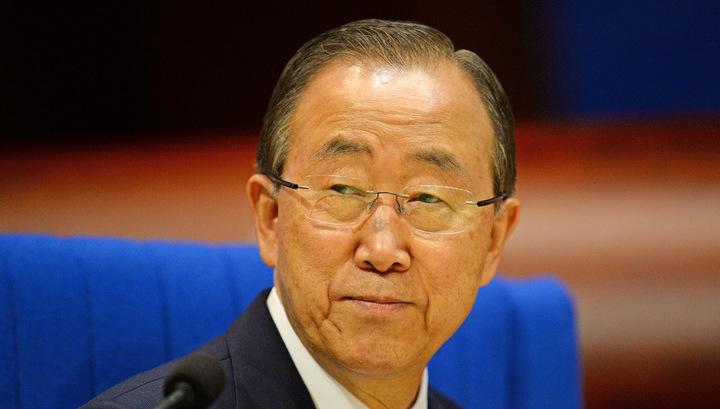 Генсек ООН просит США и Россию преодолеть разногласия по Сирии