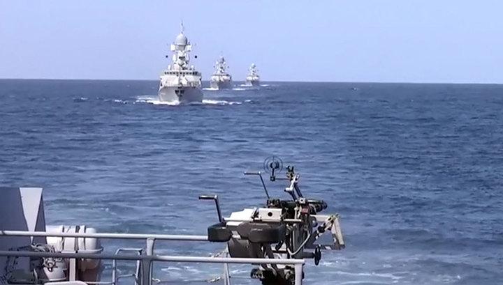 Российский флот присоединился к борьбе с ИГИЛ