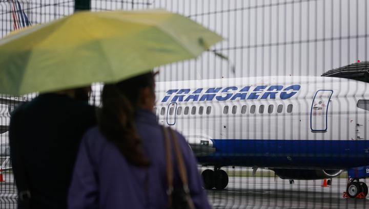 """На 8 октября """"Трансаэро"""" отменила 53 вылета"""