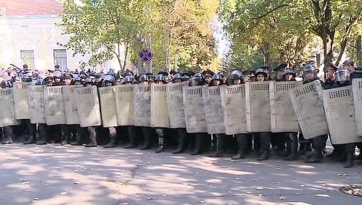 Арест Филата подхлестнул протестные настроения в Молдавии