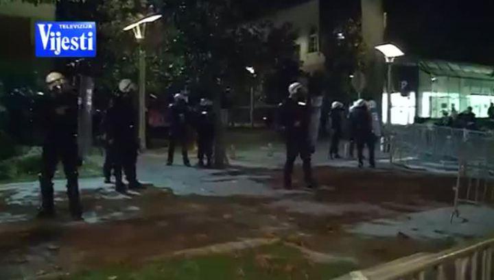 Черногория: полиция применила газ против оппозиционеров в Подгорице