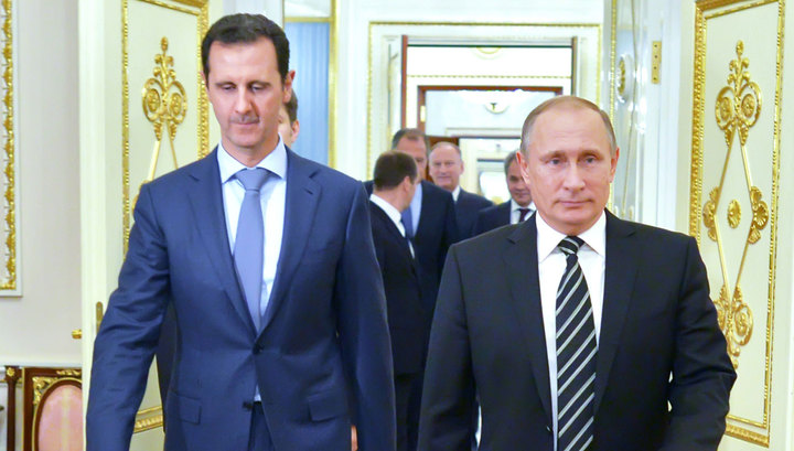 Ради встречи с Путиным Асад впервые за несколько лет покинул Сирию