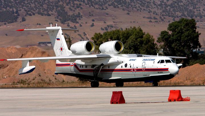 Самолеты МЧС России вылетели в Португалию для тушения лесных пожаров