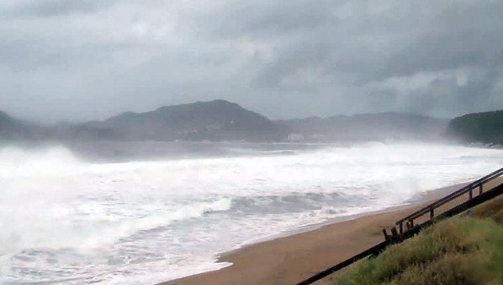 На Тайвань обрушился тайфун