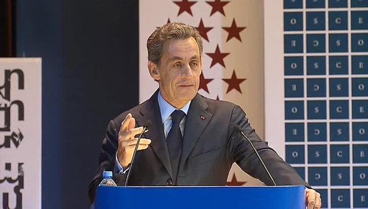Саркози: судьба России - быть великой мировой державой