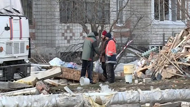 В Пензе обрушилась часть многоэтажного дома