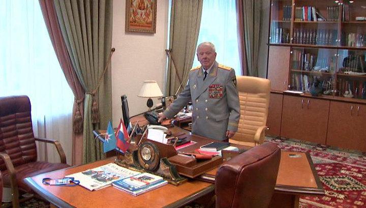 95-летний юбилей отмечает ветеран МЧС Дмитрий Михайлик