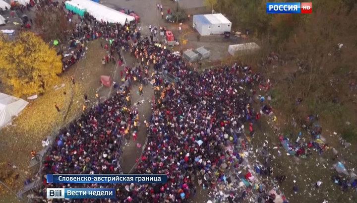 Жизнь мигрантов в Европе: горящий мусор вместо достатка