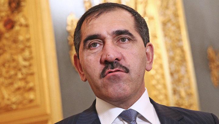 Глава Ингушетии Евкуров подает в отставку