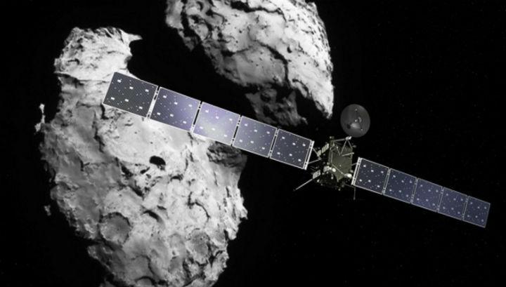 """Прежде чем рухнуть на комету Чурюмова-Герасименко, """"Розетта"""" соберёт большой объём информации и сделает снимки космического тела с максимально возможным разрешением"""