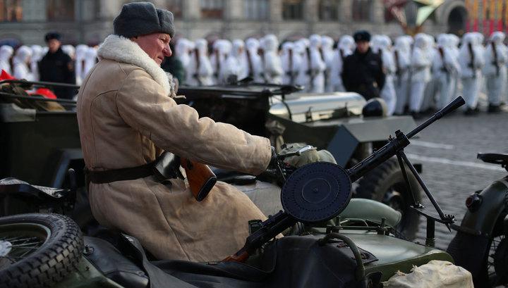 По Красной площади пройдет торжественный марш