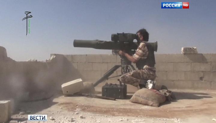 Ми-25 в Сирии сбили из американского комплекса TOW