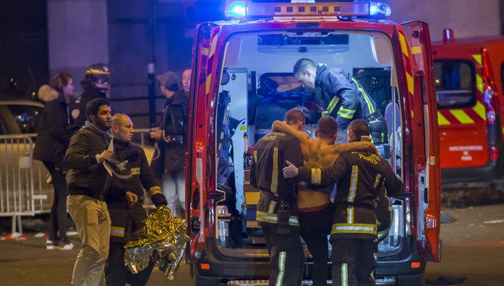 Взрывы и стрельба в Париже: погибли не менее 60 человек