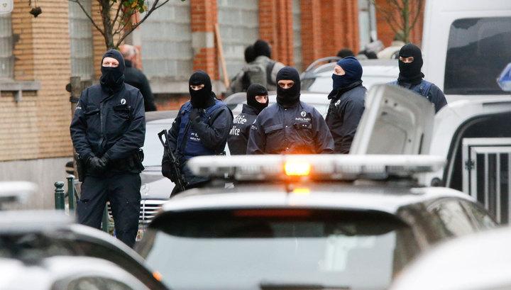 В районе спецоперации в Брюсселе раздался мощный взрыв