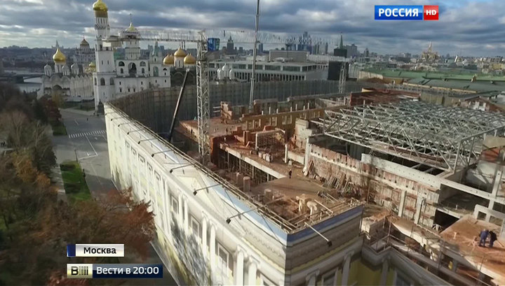 Московский Кремль возвращается к первозданному виду