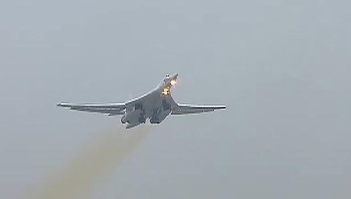 Два ракетоносца Ту-160 перебазировались к границам США
