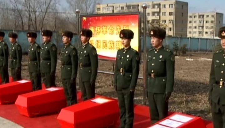 В китайской провинции Хэйлунцзян фермер обнаружил останки 7 советских солдат