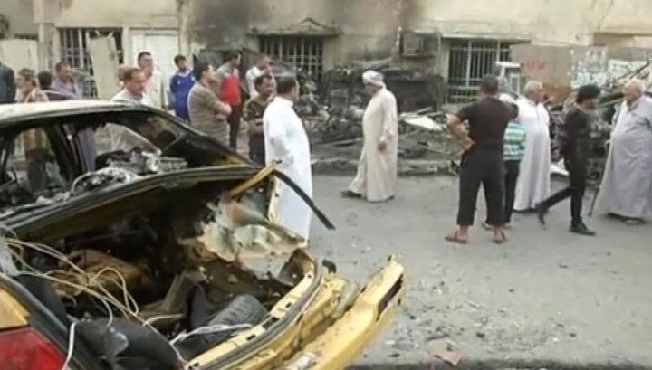 Смертник убил 16 и ранил 43 шиитских паломников в Багдаде