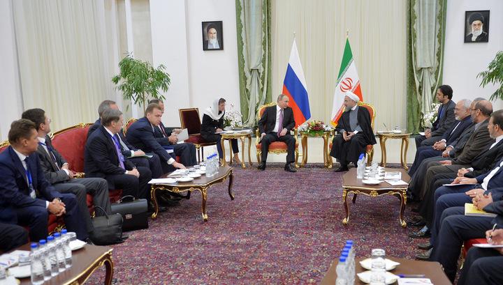 Россия и Иран расширяют экономическое сотрудничество