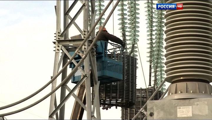 Новак: энергомост в Крым может быть сдан раньше 20 декабря